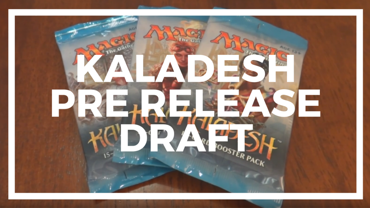 Kaladesh Prerelease Draft