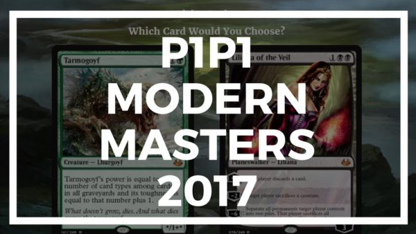 P1P1 for Modern Masters 2017 is up!