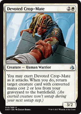 Devoted Crop-Mate