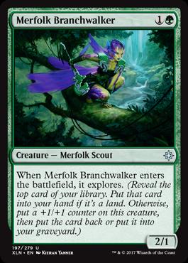 Merfolk Branchwalker
