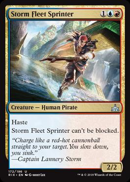Storm Fleet Sprinter