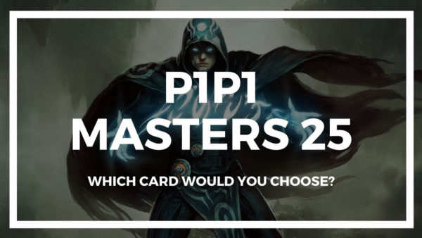 P1P1 Masters 25 is up! Get picking!