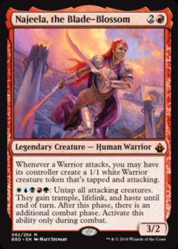 Najeela, the Blade Blossom