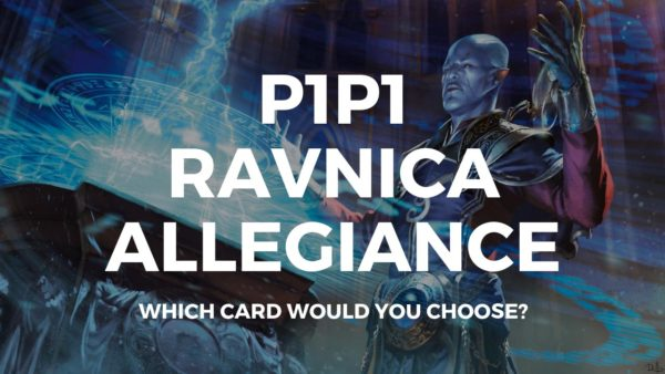 P1P1 Ravnica Allegiance is up! Get picking!