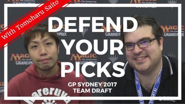 Defend Your Picks: Tomoharu Saito – GP Sydney