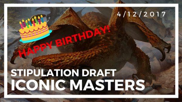 Iconic Masters Stipulation – 4/12/2017