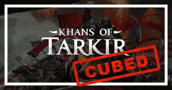 We Khan't wait to draft this cube!