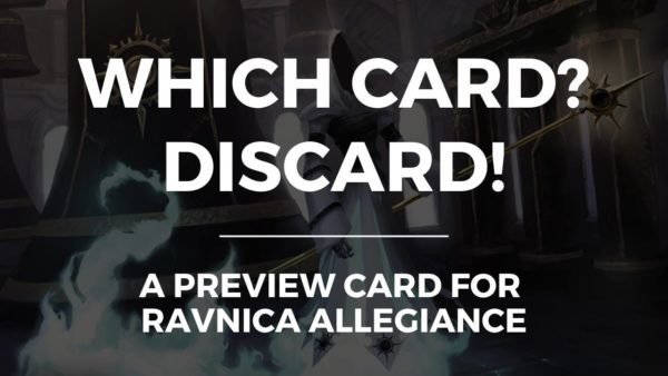 Which card? Discard!