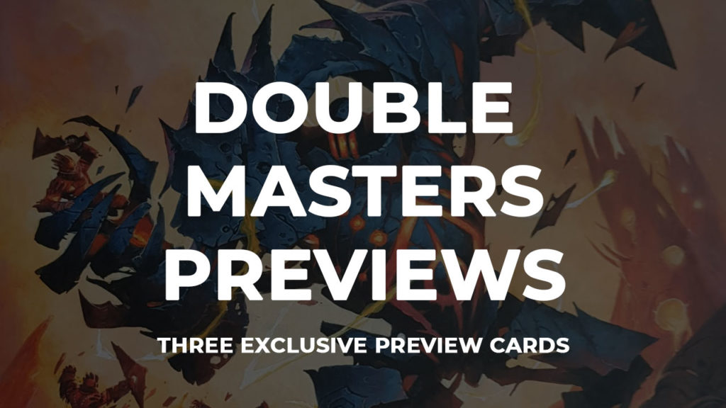 Double Masters previews